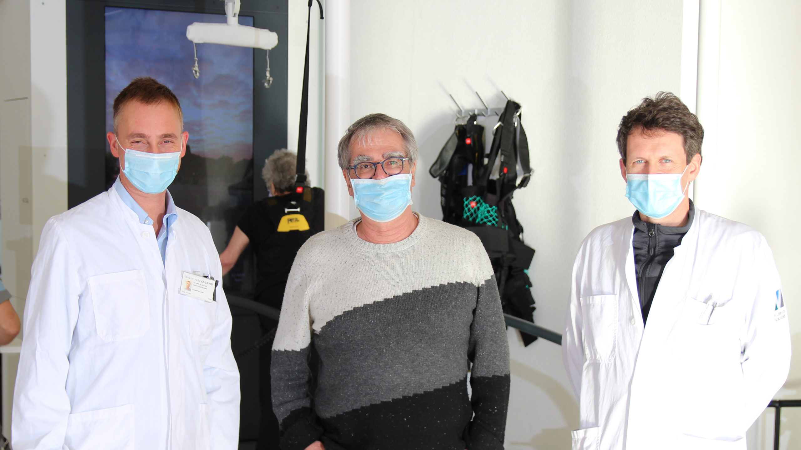 Parkinson-Forschungsprojekt: Ärzte vor C-Mill