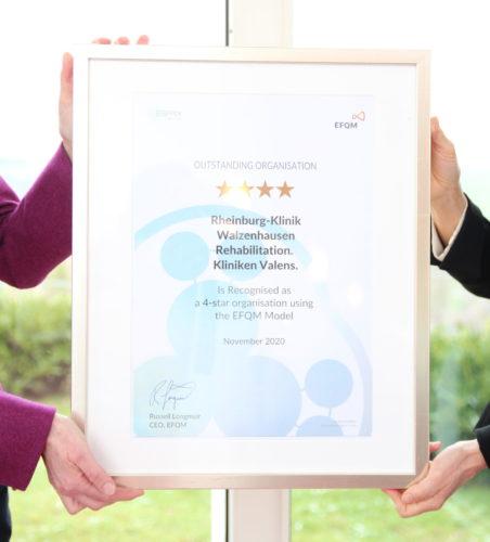 Zertifikat EFQM 4 Sterne